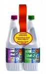 Комплект жидкость для биотуалета Campa Green + Campa Rinse Plus, 1.5 л